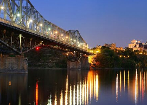 bridge built by the government